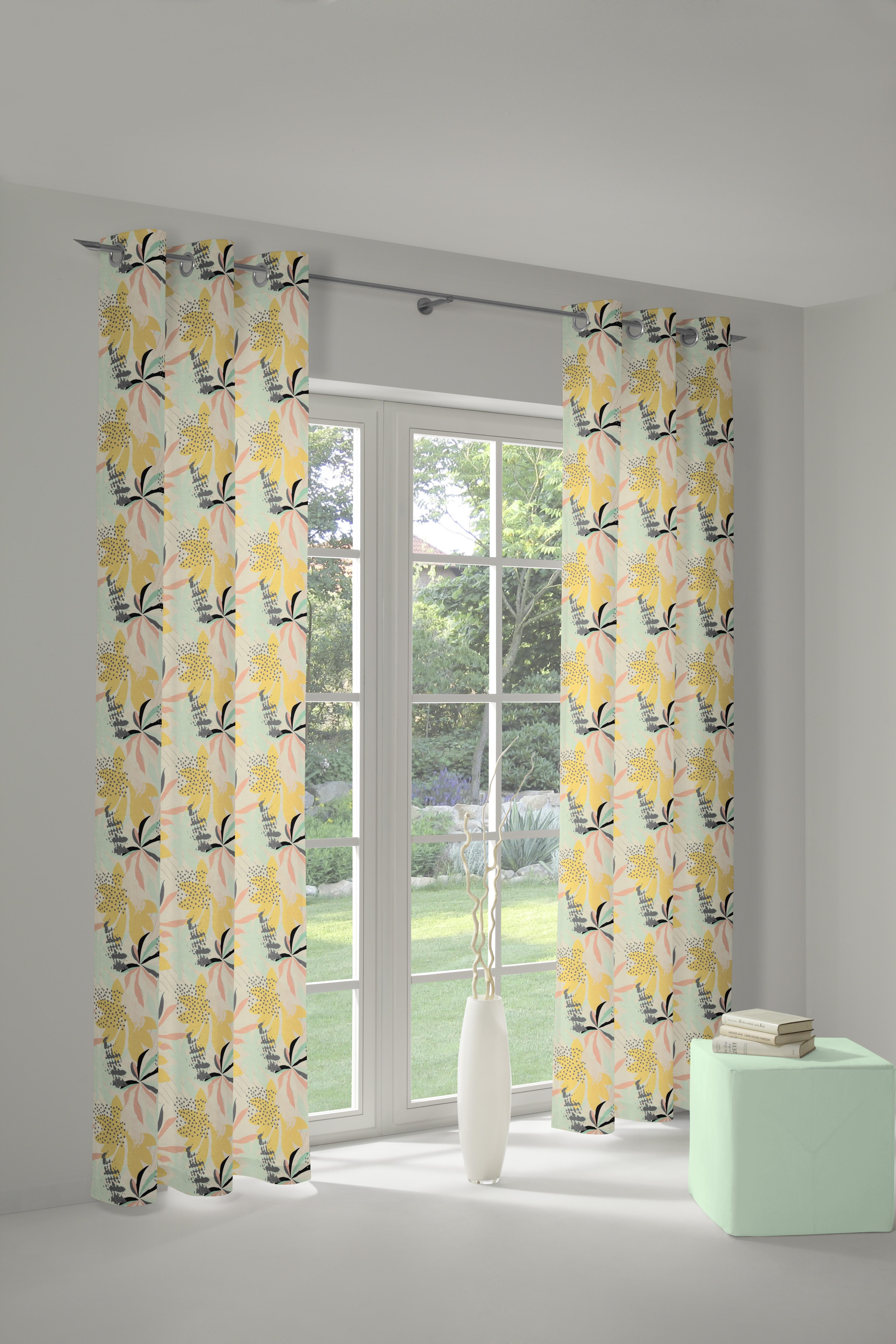 Bedruckter Vorhang 'Jungle'