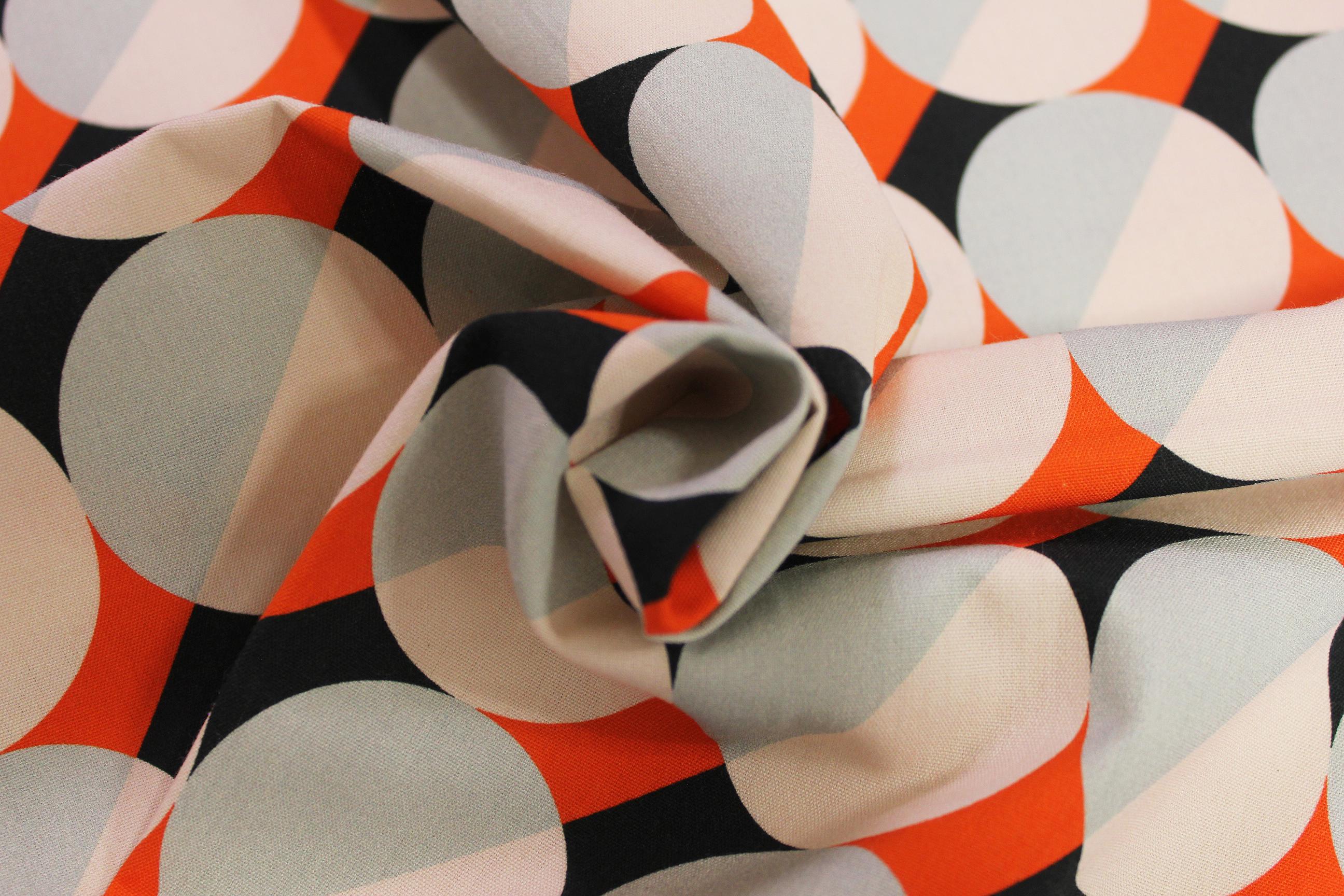 Bedruckte Tischdecke 'Circles'