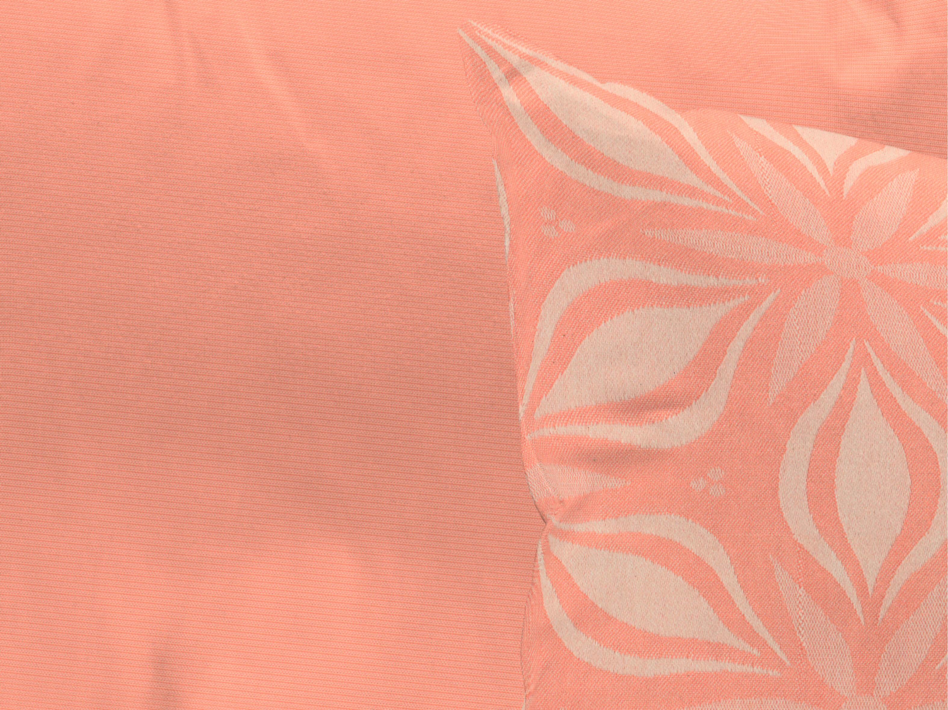 Kissenhülle 'Retro Floret'