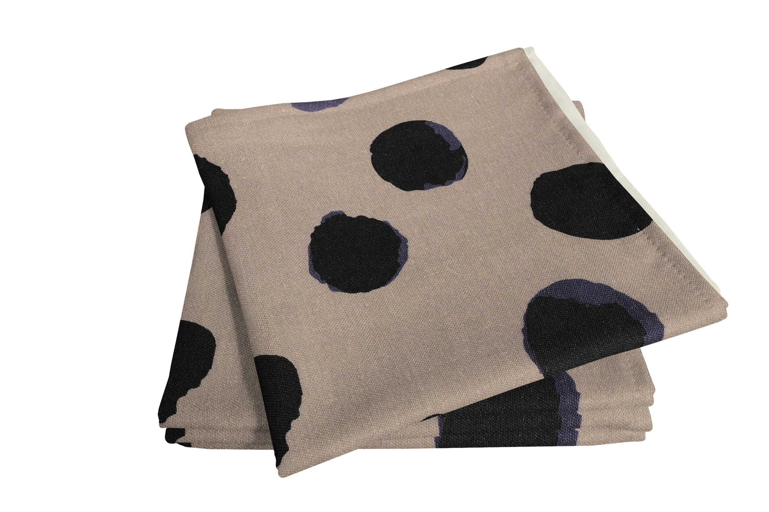 Leinenserviette 'Dots' (4er Pack)