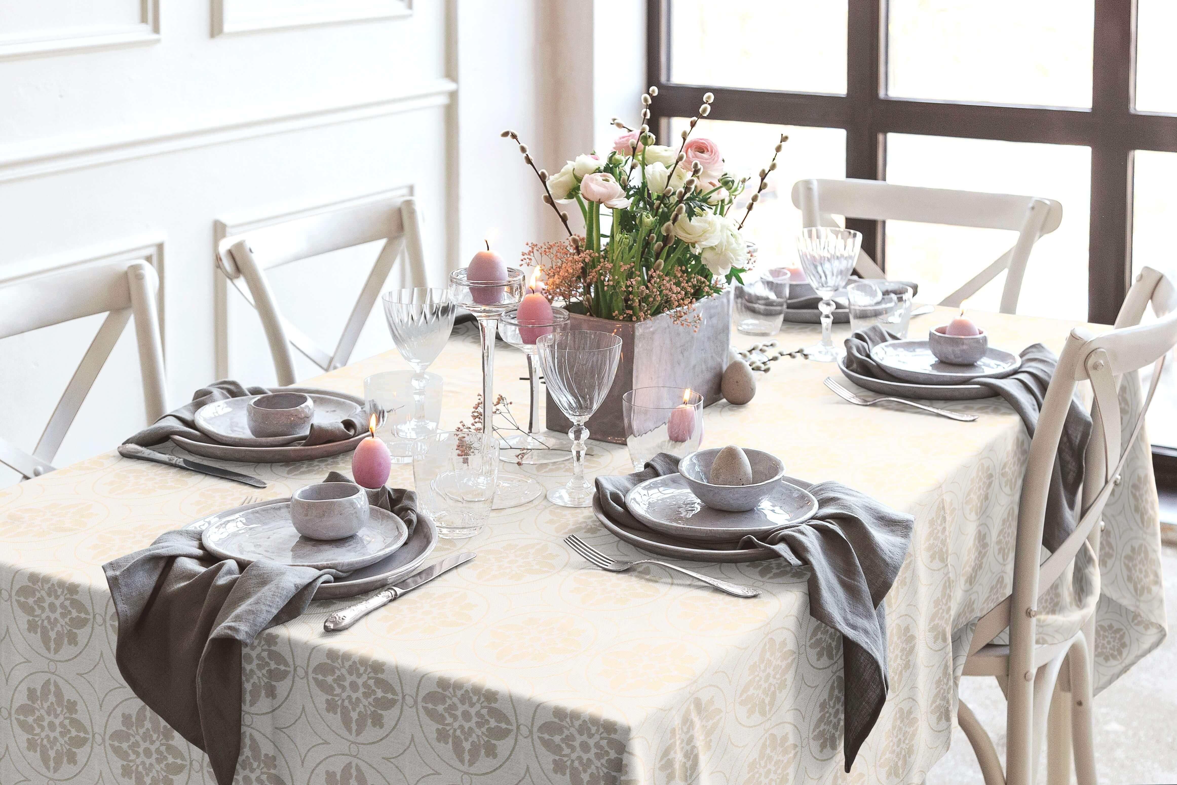 Romantic Puligny (Tischdecke)