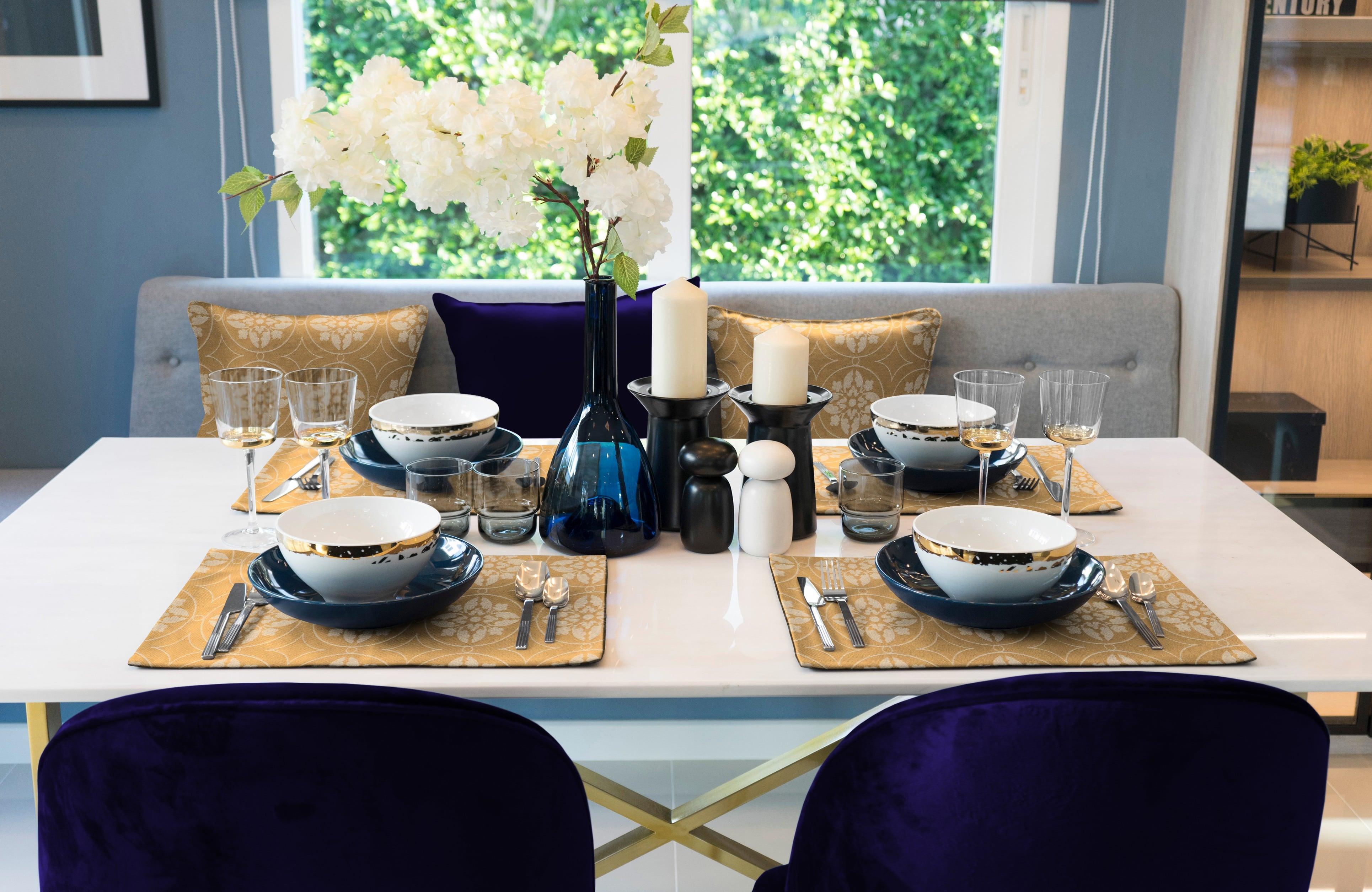 Romantic Puligny (Tischsets)
